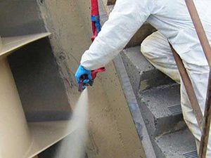 spray coating metal