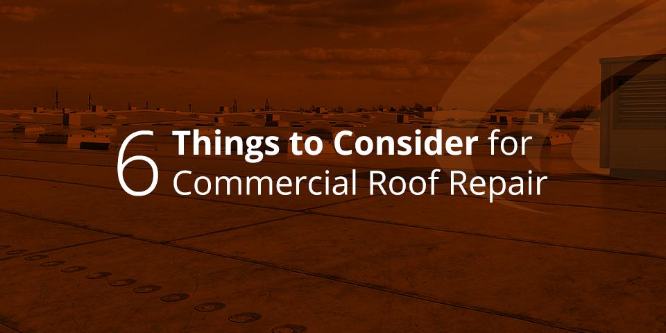 huge commercial roof in need of repair