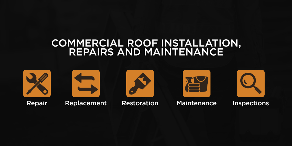 commercial roof installation repairs and maintenance