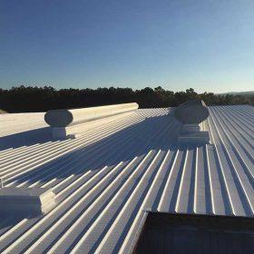 meatl roof coating