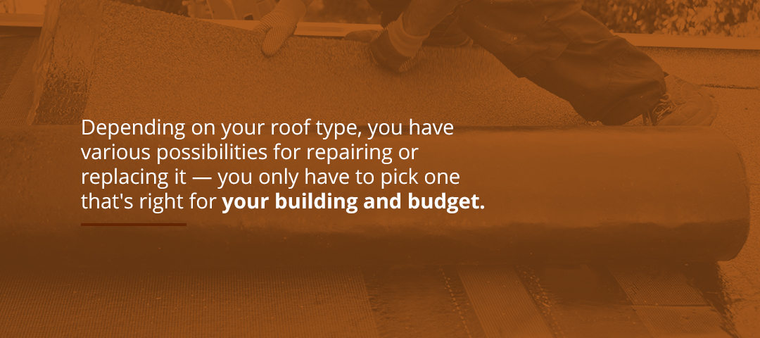 Explore Your Options With Commercial Roof Repair vs. Roof Replacement