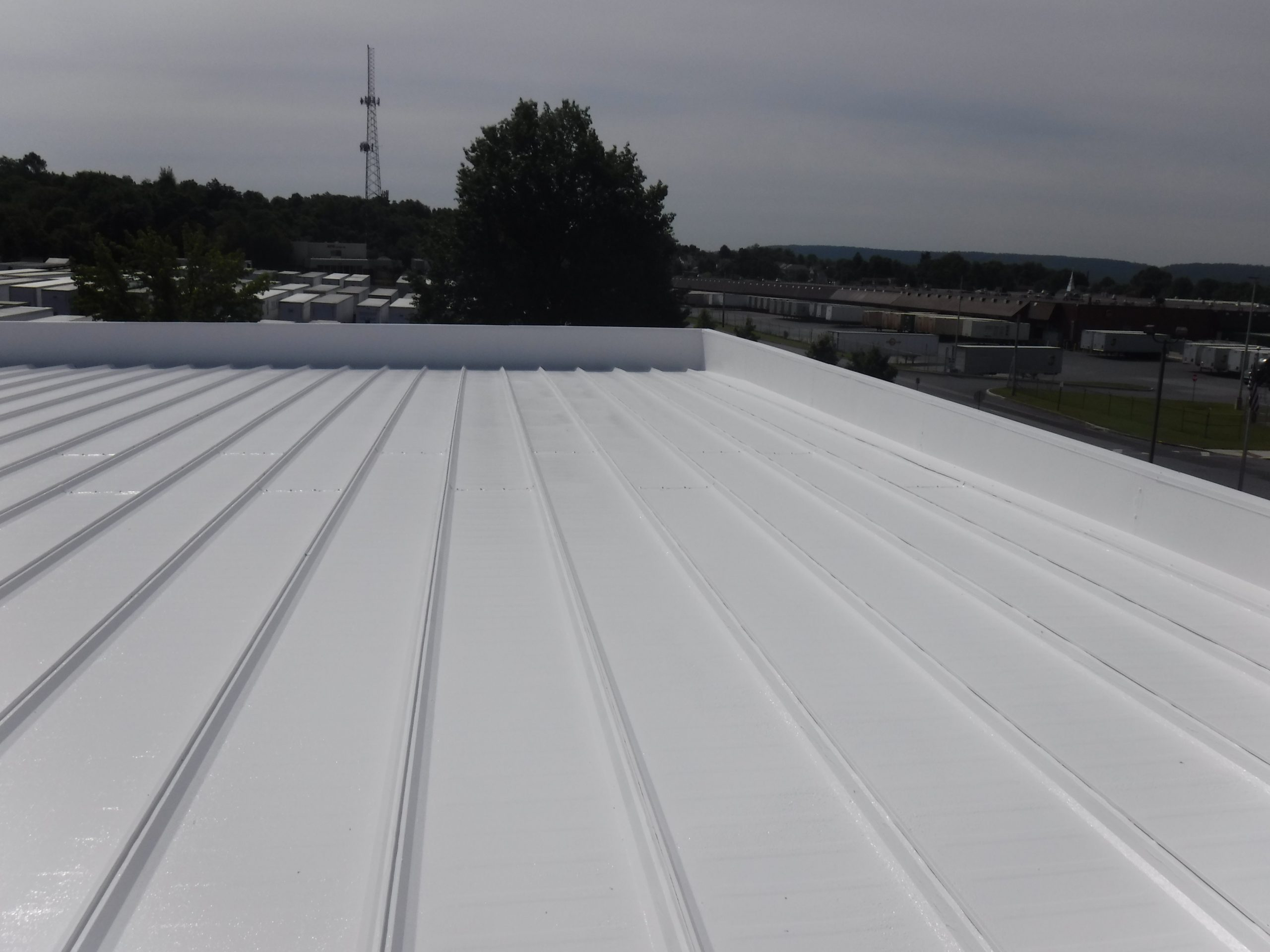 Finished Commercial Warehouse Roof